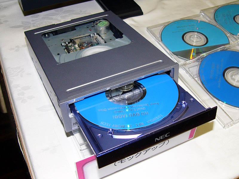 nec dvd ファームウェア