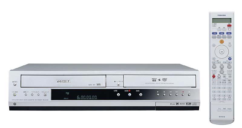 8月下旬発売 標準価格:オープンプライス 連絡先:東芝DVDインフォメ...  東芝、160G
