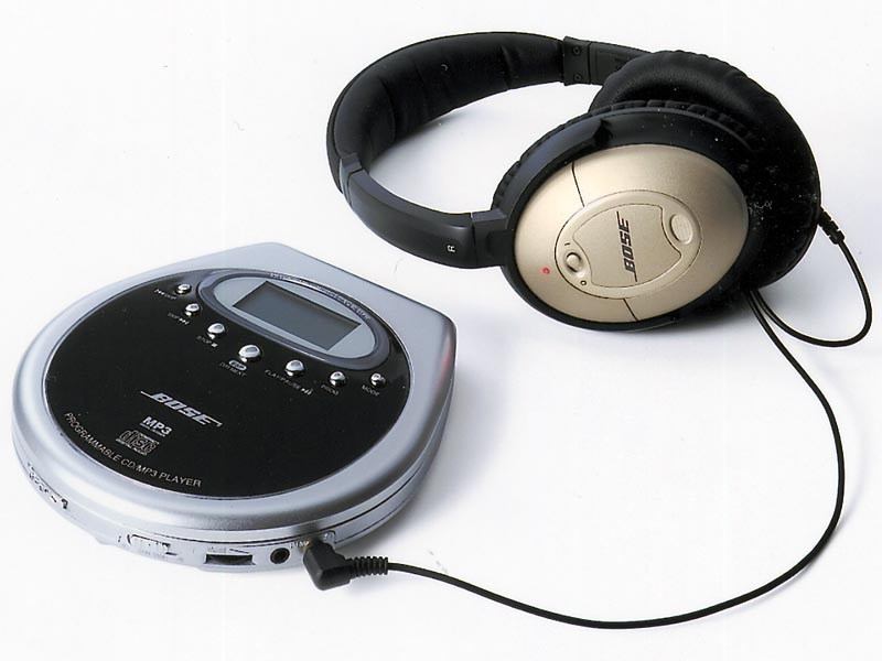 Bose on bose portable cd player