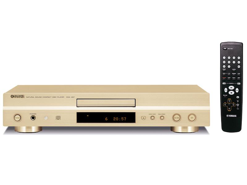 ヤマハ、MP3/WMA再生対応CDプレーヤー