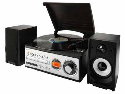 6 6 811 - Chaine hifi avec platine vinyle ...
