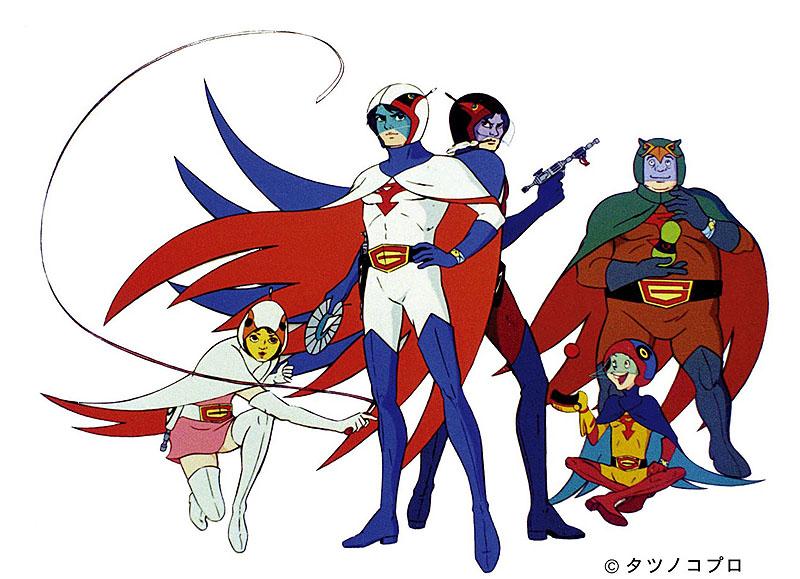 G Force Cartoon Characters : デアゴスティーニ、「科学忍者隊 ガッチャマン」のdvd付きマガジン