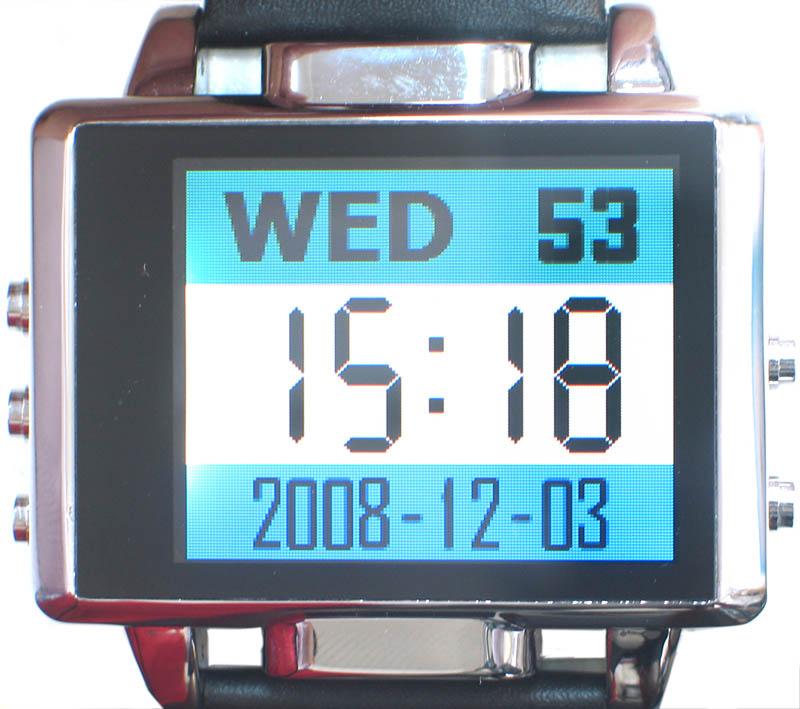 サンコー、カメラ内蔵「腕時計型」動画プレーヤー