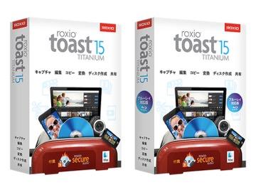 パッケージ版 Toast 16 Titanium コーレル ブルーレイ対応
