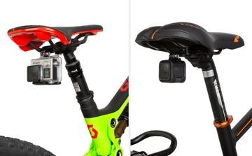Goproをヘルメットや自転車のハンドルやサドル下に装着できる3種類の