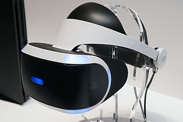 拡大画像]PlayStation VR向けLittlstarアプリ登場。ポルノの野外