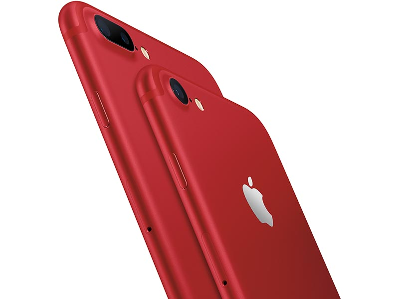 iPhone 7/7 Plus (PRODUCT)REDモデル