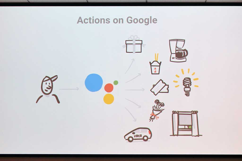 Actions on Googleで機器連携