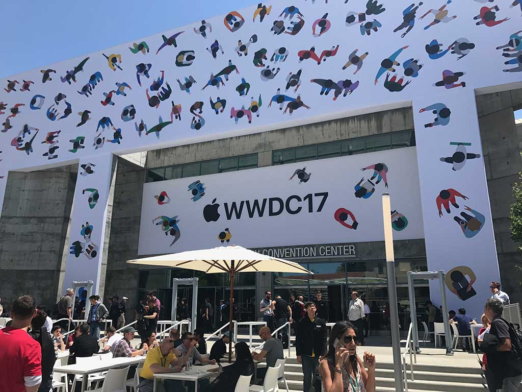 WWDC会場となっているSan Jose Convention Center