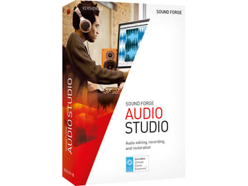 約6,700円の波形編集ソフト「SOUND FORGE Audio Studio 12」 SOUND FORGE Audio Studio 12
