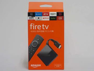 ミニレビュー】8,980円でHDR/4K対応。小さくなった新「Fire TV」でテレビ