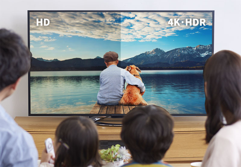4K/HDR再生に対応