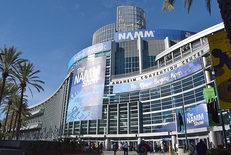 NAMM Show会場のAnaheim Convention Center