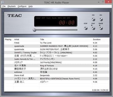 TEAC HR Audio PlayerがDSD 22.5MHzとPCM 768kHz対応。ドライバはBulk