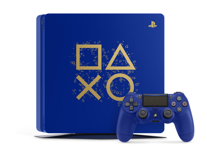 PlayStation 4 Days of Play Limited Edition<br>(C)Sony Interactive Entertainment Inc. All rights reserved. Design and specifications are subject to change without notice.
