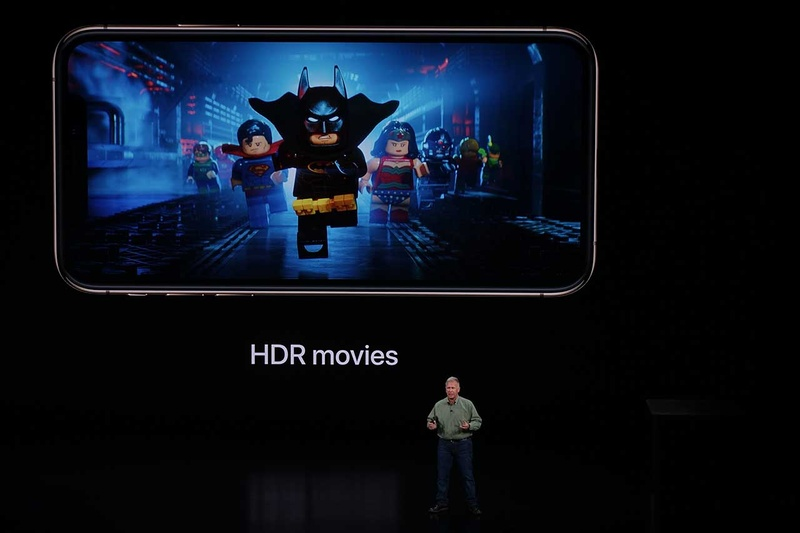 iPhone X同様、HDR10とDolby Visionに対応