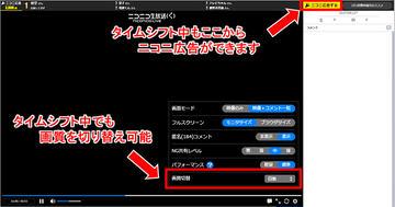 ニコニコ 動画 タイム シフト 保存