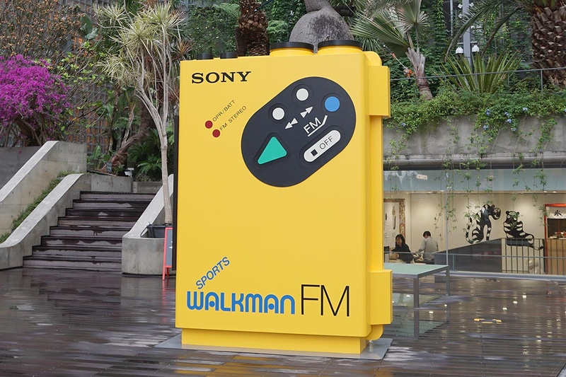 Ginza Sony Parkで9月1日まで開催中の「#009 WALKMAN IN THE PARK」