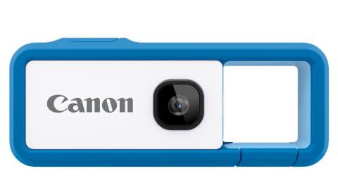 【カメラ】キヤノン、モニター省いたカラビナ付き新提案カメラ「iNSPiC REC」