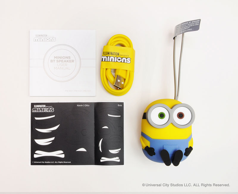 "MINIONS BT SPEAKER(Bobモデル)<br><span class=""fnt-70"">(c)Universal City Studios LLC. ALL Rights Reserved.</span>"