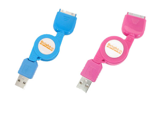 "</small><p align=""center""><small><small><font size=""2"">Color Cable for iPod</font></small></small>"