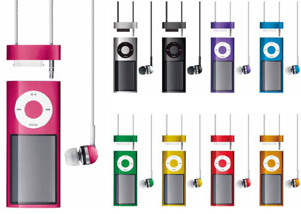 「Neck Strap Headphones for iPod nano 5th Generation」(RA-NS151)