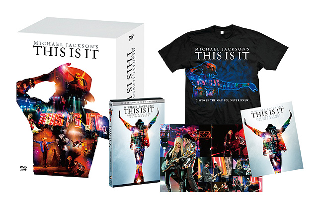 「マイケル・ジャクソン THIS IS IT メモリアル DVD BOX」 <BR><FONT size=1>(C)2009 The Michael Jackson Company, LLC. All Rights Reserved.</FONT>