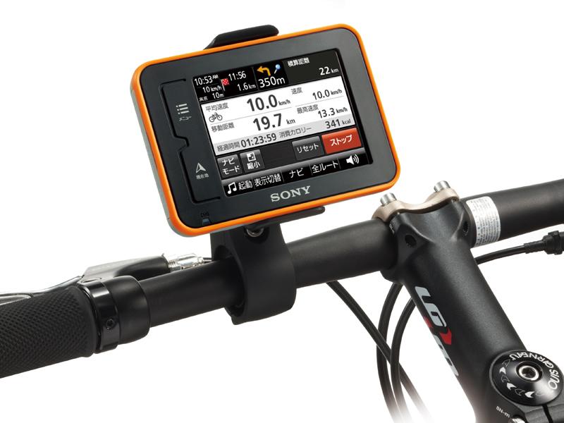 ... GPS速度計、走行軌跡記録、音楽