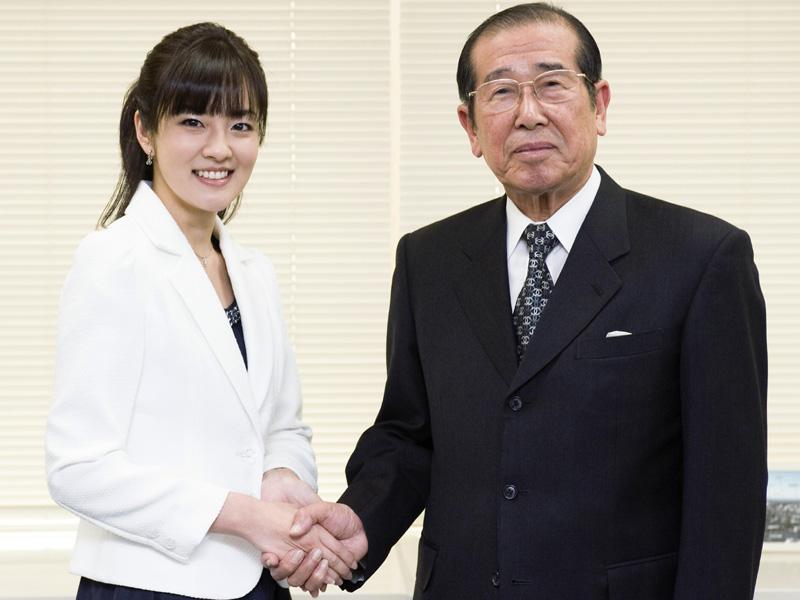 拡大画像]NHKの地デジ推進大使が...