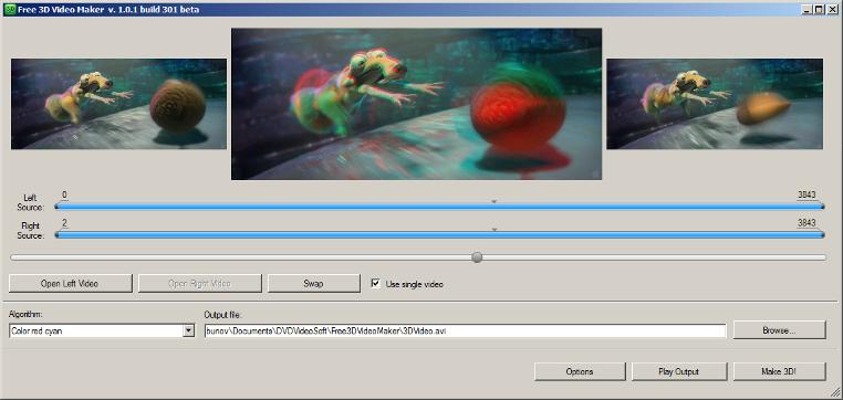 3d動画作成が可能な無償ソフト free 3d video maker