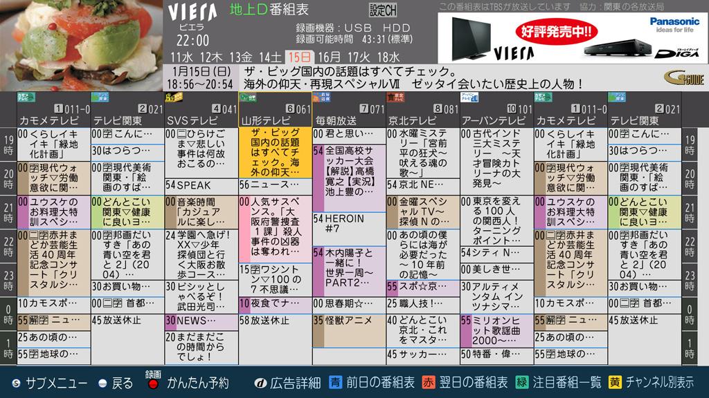 パナソニック、KUROを超える最高峰のプラズマテレビ発表!なお最底辺のクソ番組表やリモコンは健在