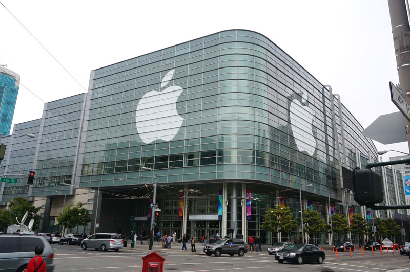 会場となったMoscone Center West