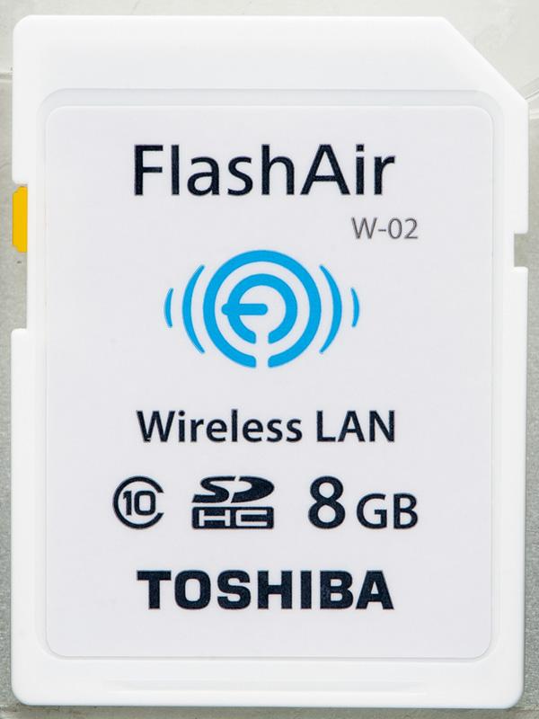 FlashAir「SD-WC008G」