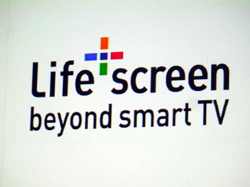 Life+ Screenは、「Beyond Smart TV」を掲げる