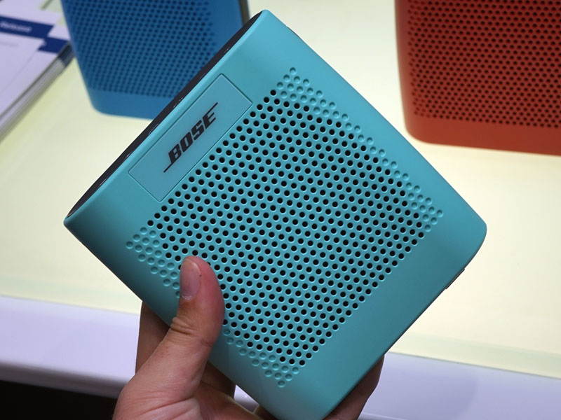 小型Bluetoothスピーカー「SoundLink Color Bluetooth speaker」