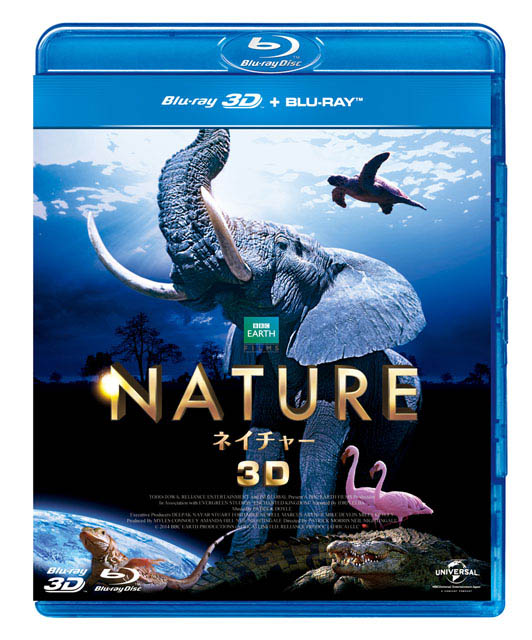 "ネイチャー 3D&amp;2D Blu-rayセット<br class=""""><span class=""fnt-70"">(C)BBC Earth Productions (Africa) Limited. and Reliance Prodco EK LLC 2014</span>"