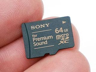 ソニー、音質にこだわったmicroSDXCカード。「ハイレゾウォークマンに最適」