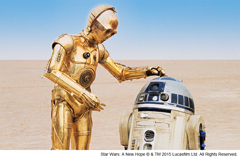 "C-3POとR2-D2<br class=""""><span class=""fnt-70"">(C)Lucasfilm Ltd.&TM. All Rights Reserved.</span>"