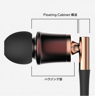 Floating Cabinet構造を採用