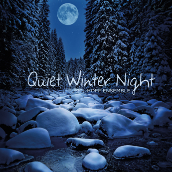第1弾タイトルの「Quiet Winter Night - an acoustic jazz project」(HOFF ENSEMBLE)