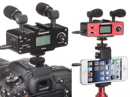 Saramonic、スマホ向けの小型ミキサー「Smart Mixer」とデジカメ向け「CaMixer」 - AV Watch