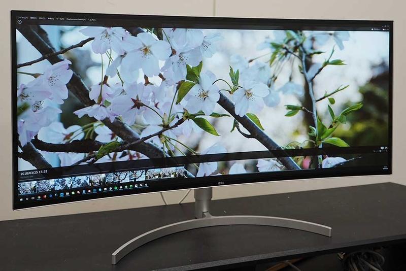 【西川善司の大画面☆マニア】「デスクトップ・シネマ」実現? LGの湾曲38.5型液晶「38WK95C-W」でシネスコ体験