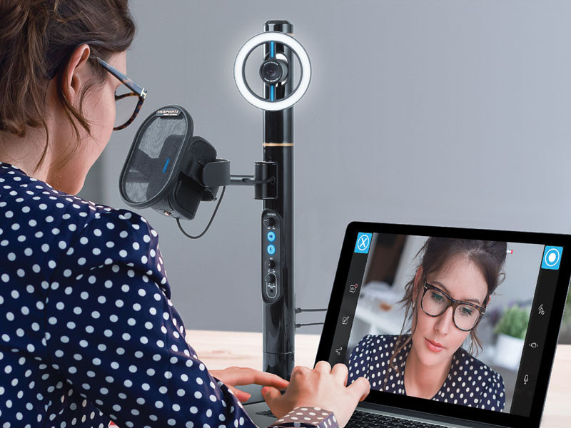 Marantz Pro、ネット動画配信向けカメラ&マイク一体型システム「Turret」