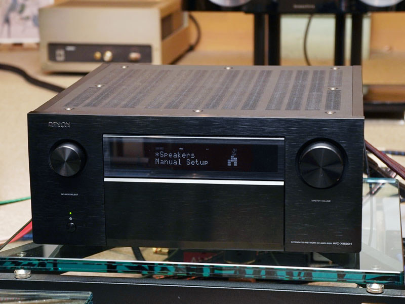 デノン最上位AVアンプ「AVC-X8500H」、Auro-3D対応ファームウェア公開