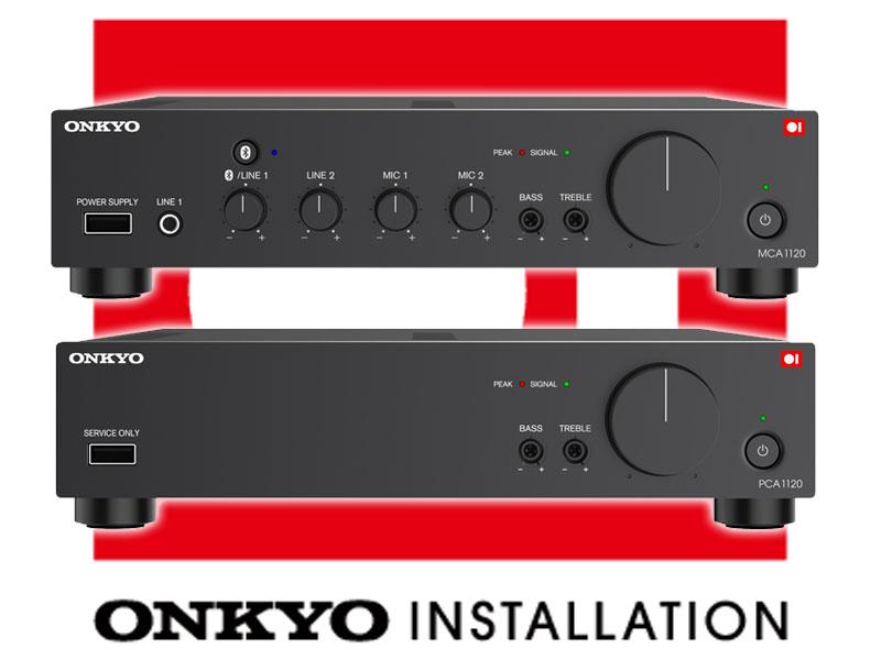 オンキヨーブランド初、小規模施設向け業務用アンプ。「Onkyo Installation」第一弾