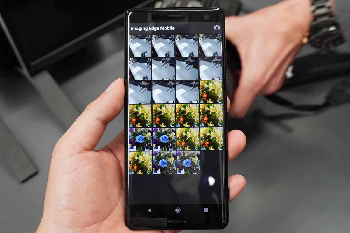 ソニー、カメラからスマホへの画像転送アプリ刷新「Imaging Edge