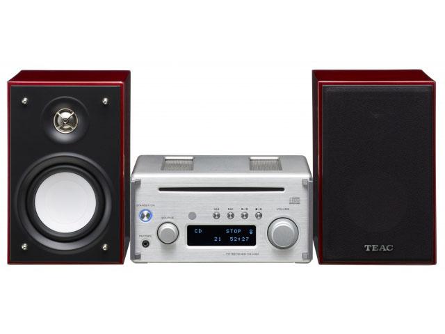 TEAC、約8万円でワイドFMも対応するハイレゾ小型コンポ。同軸SPのハイレゾ対応も