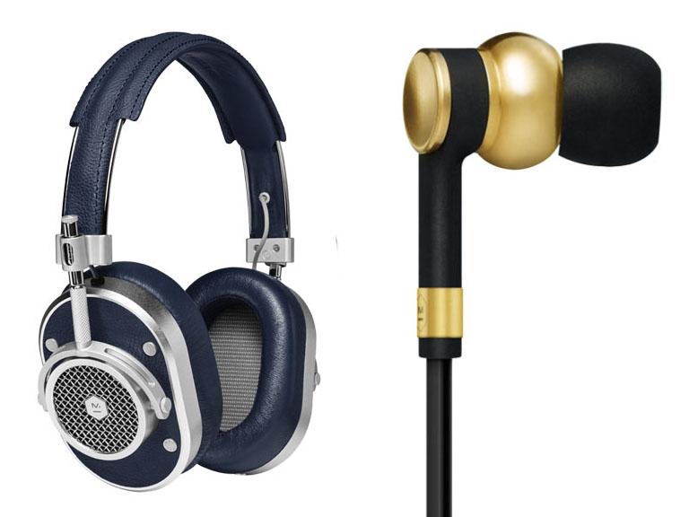 NY発ブランドMASTER & DYNAMIC、真鍮製イヤフォンとヘッドフォン「MH40」新色